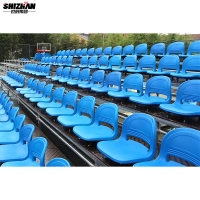 Quality High School Stadium Bleacher Seating Structure Easy Install for sale