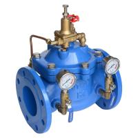 Quality Adjustable Pressure Reducing Valve 200X Precise Geometric Size No Leakage for sale