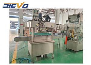 Quality 4 Nozzles 0.3KW 75x65x165cm Disinfectant Filling Machine for sale