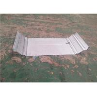 Quality Clip Lock Roof Sheet Standing Seam Roll Forming Machine For K - Span for sale