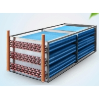 Quality Copper Tube Aluminum Fin Tub Heat Exchanger , Home Portable AC Heat Exchanger for sale