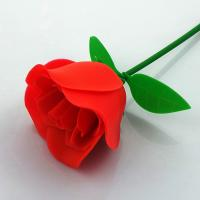 China Customized FDA Aromatic Rubber Artificial Flowers Rose For Valentines Day on sale