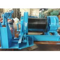 Quality 5-10MT Heavy Duty JK High/Fast Speed Electric Winch For Material Pulling And Lifting for sale