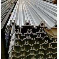 Quality Silver anodized 6063 T6 extrusion aluminum for agricultural machinery t slot framing for sale