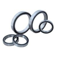 Quality Real Slim Sealed Chrome Steel Ball Bearing Thin Section With Plastic Cage for sale