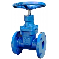 Buy cheap DN50 Handwheel AWW C509 Gate Valve Spray coating Flanged end from wholesalers