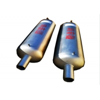 Quality SS304 Exhaust Specialised Pipe And Fittings , Dn50 Boiler Noise Silencer for sale