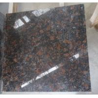 Buy Chinese factory hot sale construction material granite slab of Tan brown at wholesale prices