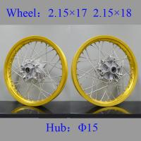 Quality Anodized Golden Stainless Steel Motorcycle Wheel Spokes U Type Custom Size for sale