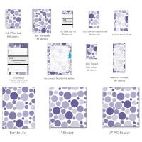 Best Business Blank Spiral Bound Index Cards With Mixed Navy Dots organize documents wholesale