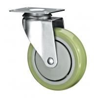 "Quality 5"" Polyurethane PU Caster Wheel Swivel For Case Carts And Utility Carts for sale"