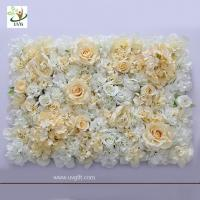 Best UVG romantic rose artificial floral wall for photography backdrop art studio backgroudn decoration CHR1137 wholesale