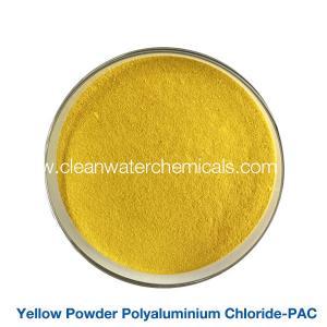 Yellow Polyaluminium Chloride 30% Spray For Waste Water Treatment