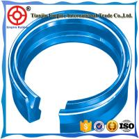 China Rod seal for hydraulic cylinder for high-pressure applications and extreme pressure peaks. on sale