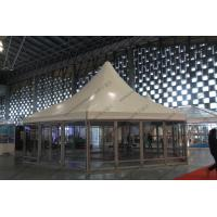 Quality φ10M Six Sides Pagoda Party Tent Temporary Aluminum Frame For Shanghai Exhibition for sale