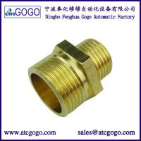 China Female to female brass fitting 1/8 to 1/4 copper connector thread G PT on sale