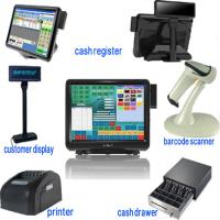 Quality Whole Sets 15 Inch Dual Touch Screen Pos Terminal For Restaurants for sale