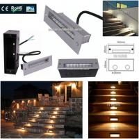 Best Decorative Outdoor Step 5730 SMD Recessed LED Wall for Stair Lights Night lights plug in wall wholesale