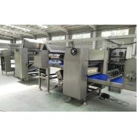 Quality Auto - Proofing Pita Production Line With Gas Fuel Tunnel Oven , Pita Bread Maker Machine for sale
