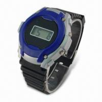 Quality LCD Plastic Watch with Basic Function for sale