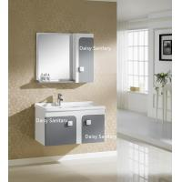 Quality Side Mirror Cabinet All In One Bathroom Vanity Thin Top Or Polymarble for sale