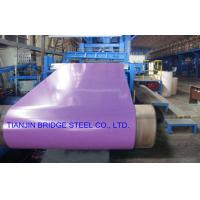 Quality Dip-Cold PPGI Coil For Construction , Color Coated Prepainted Galvanized Steel Coil for sale