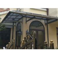Buy cheap Aluminium Frame Polycarbonate Roof Canopy Rain Cover For Balcony from wholesalers