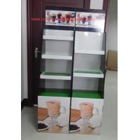 Best Milk tea Cardboard Floor Display LOGO printed , lightweight and strong wholesale