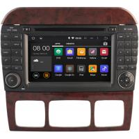 Quality Mercedes Benz Stereo System , High Definition Car DVD Player For Mercedes Benz CL W215 for sale