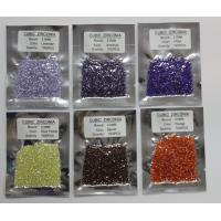 China Colorful cubic zirconia gemstones beads for jewelry on sale