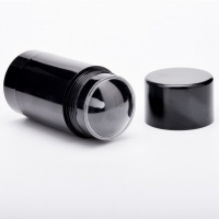 Quality Refillable Black Plastic PP Empty Twist-up Deodorant Containers for sale