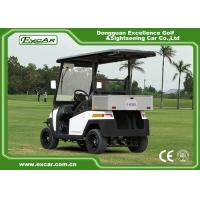 Buy EEC Approved Electric Golf Carts / White Plastic 5KW AC Golf Buggy Car at wholesale prices