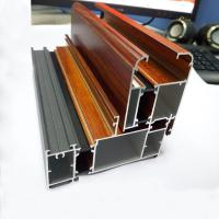 Best Wooden Grain Aluminium Profile for Extrusion Aluminium wholesale