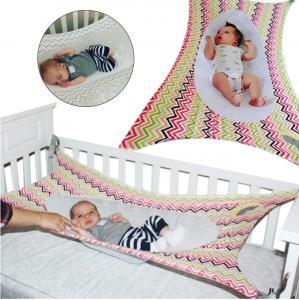 China Portable Baby Cot Hammock Detachable , Gray / Colorful Newborn Baby Hammock on sale
