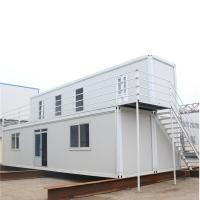 Quality Cheap Prefab House 40ft Container House Container Office for sale
