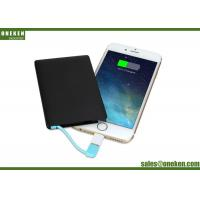 New Stylish 2500mAh Ultra Slim Mobile Power , Portable Battery Charger For Cell Phone