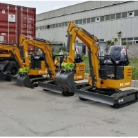 Quality Factory Supply New Design 1.8ton Mini Hydraulic Digging Machine Excavator Construction Equipment for sale