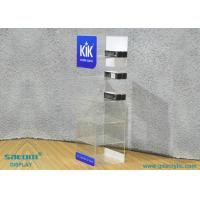 China Acrylic E-liquid Display Stand For Storage / Display , Free Logo Design on sale