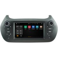 Quality Multi Language 2008+ Fiat Qubo Vehicle DVD Player , Fiat GPS System Car Stereo Sat Nav for sale