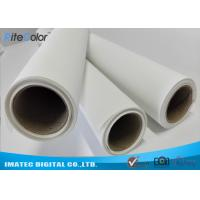 Best Waterproof 280gsm Matte Polyester Canvas Rolls Single Side For Giclee Inkjet Printing wholesale