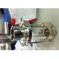 Quality 316L 304 Stainless Steel Sanitary Fittings Sight Glass For Chemical Industries for sale