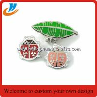 China China metal crafts factory specialized in golf magnet ball clips marker on sale