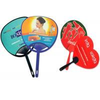 Best Personalized PVC Plastic Products , Promotional Hand Held Fans Custom Die Cut wholesale