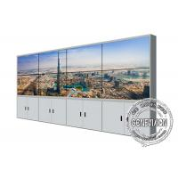 Quality LG Original Video Wall Monitors 450cd / M2 With Standing CCTV Monitoring System for sale