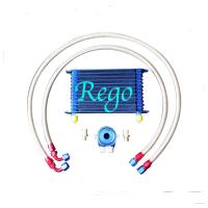 Quality Aluminium Radiator Transmission Oil Cooler Kit , 13 Rows External Transmission Oil Cooler for sale