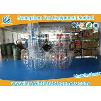 Quality TPU Inflatable Bubble Ball Customized Size For Amusement Park Play for sale