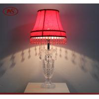 China Modern classical style decorative glass table lamp on sale