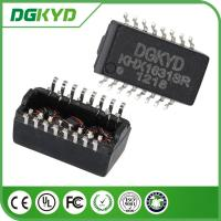 Quality KHX1631SR 16 pins Isolated Transformers , SMT cat5 Isolation Transformers for sale