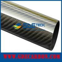 Quality Glossy Carbon Fiber Tube Manufacturer for sale