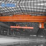 China High Strength Electromagnetic Crane , Double Girder 50 Ton Overhead Crane for sale